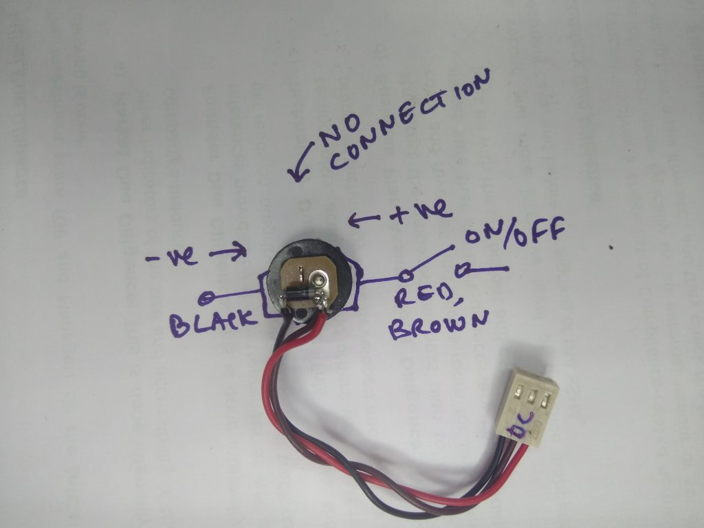 Bitx Wire Up Hf Signals Co 4 Pin Microphone Wiring Now Plug This Into The Main Boards Dc Connector Switch On Power And Measure Current It Should Be Between 90ma 110 Ma