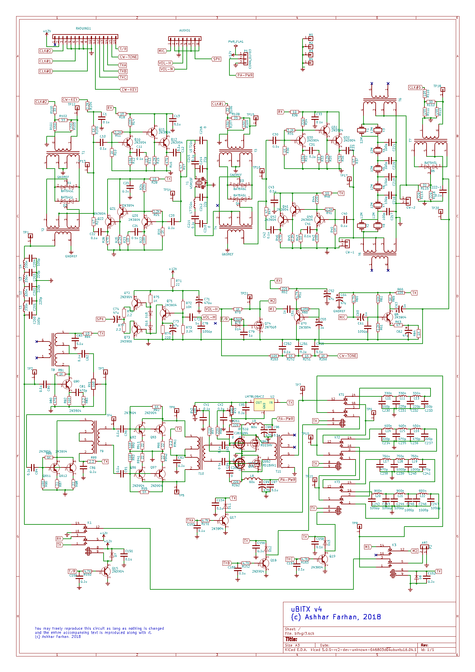 Bitx Circuit Description Hf Signals Tda2822 Amplifier Design Notes