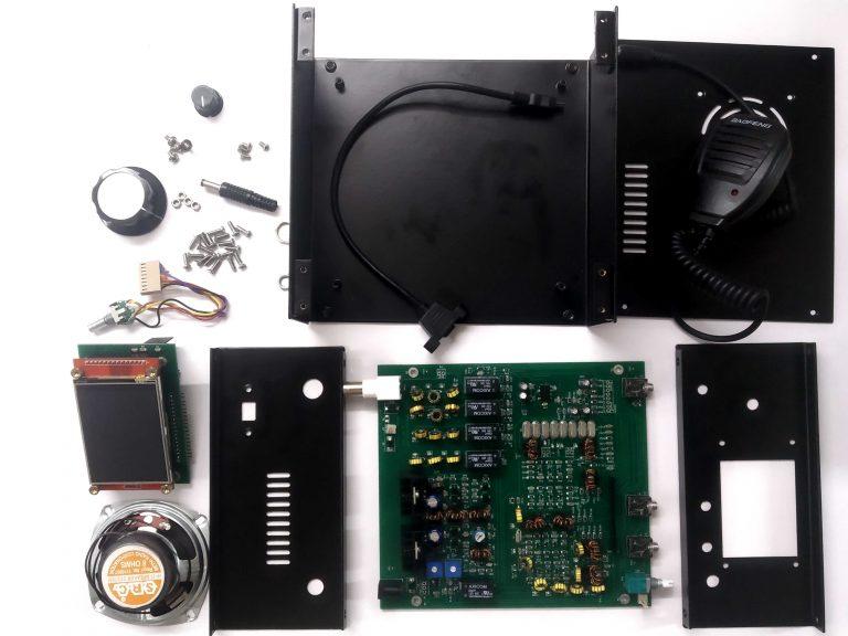 uBITX V6 : Nouvel émetteur-récepteur HF 3-30 MHz QRP 10W Ubitx_v6_full_kit-768x576